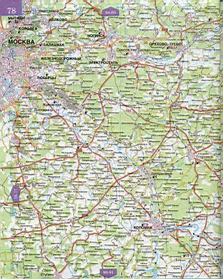 Карты автомобильных дорог