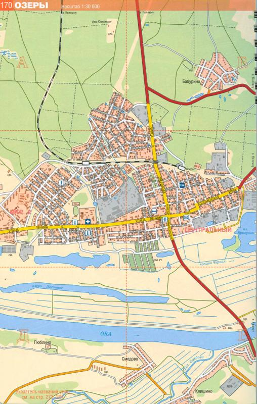 Карта Озер. Райцентр Московской области г.Озеры: http://moscow-oblast.ru/254788.html