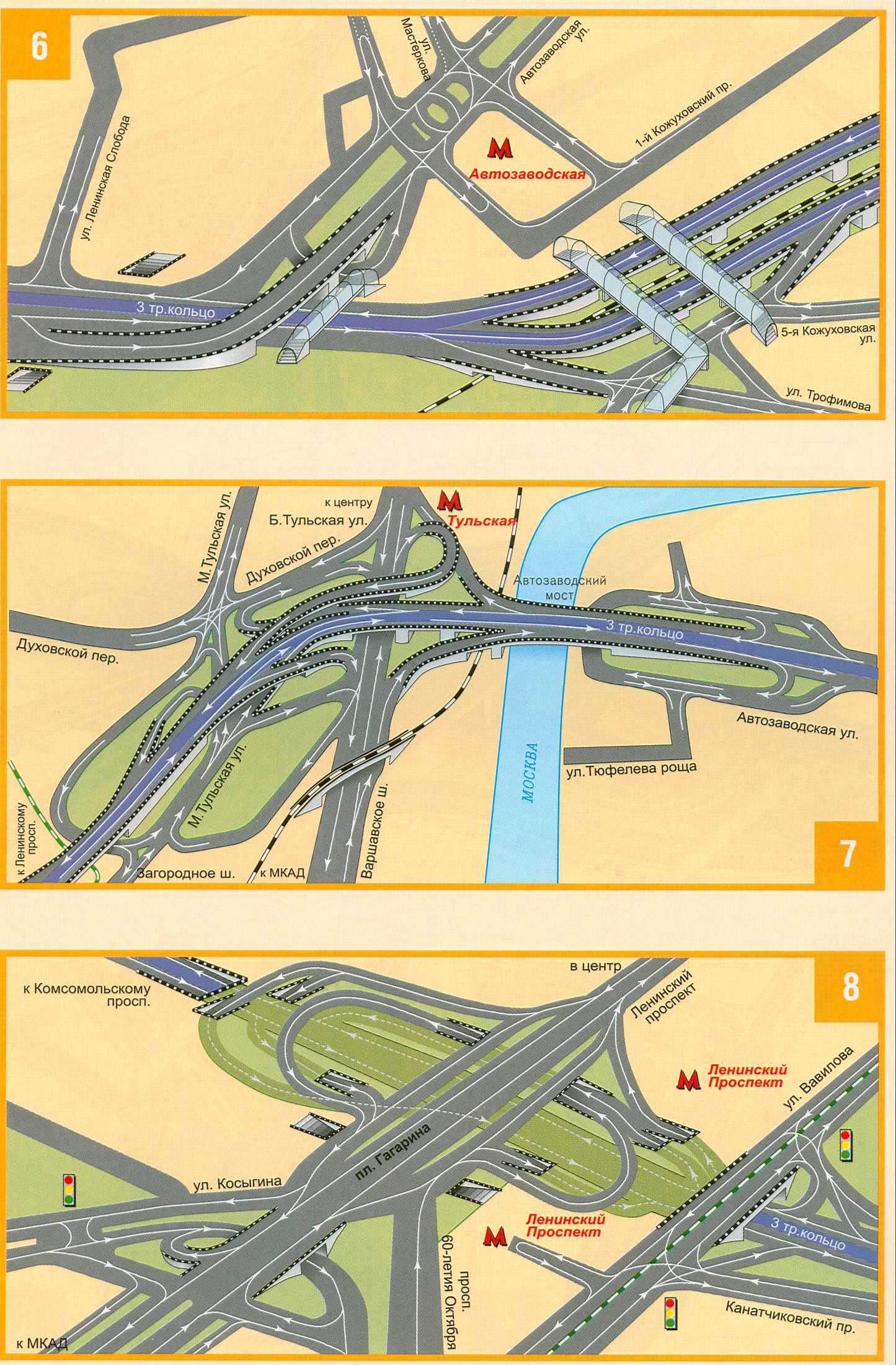4-е транспортное кольцо карта: