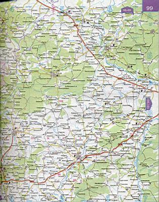 Карта жд дорог москвы и